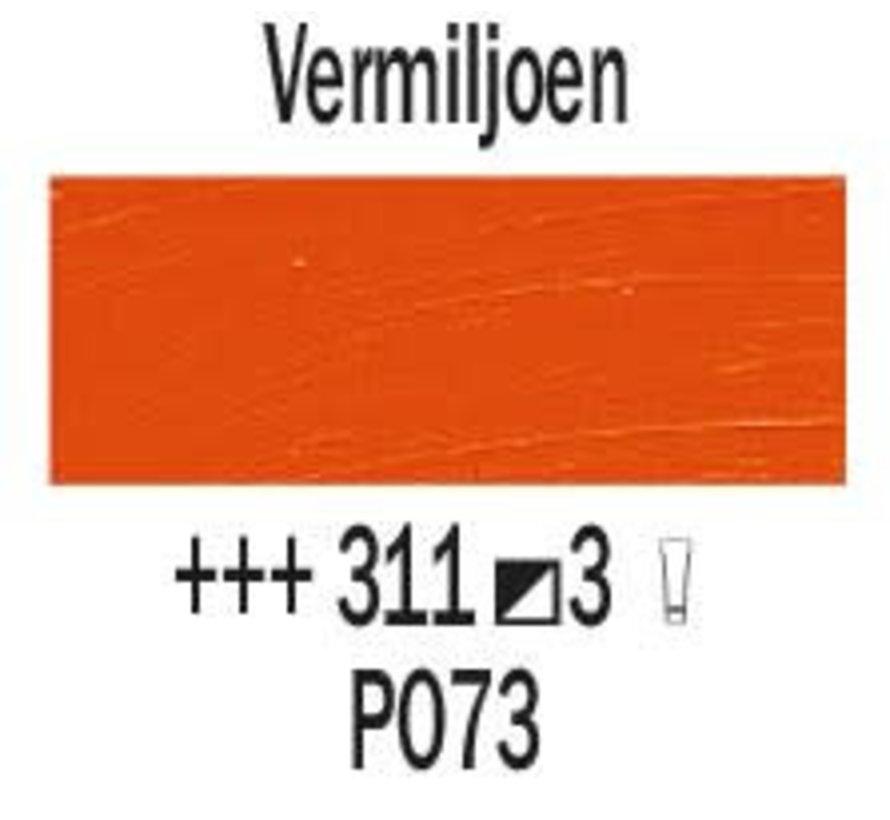 Rembrandt 40ml olieverf 311 Vermiljoen