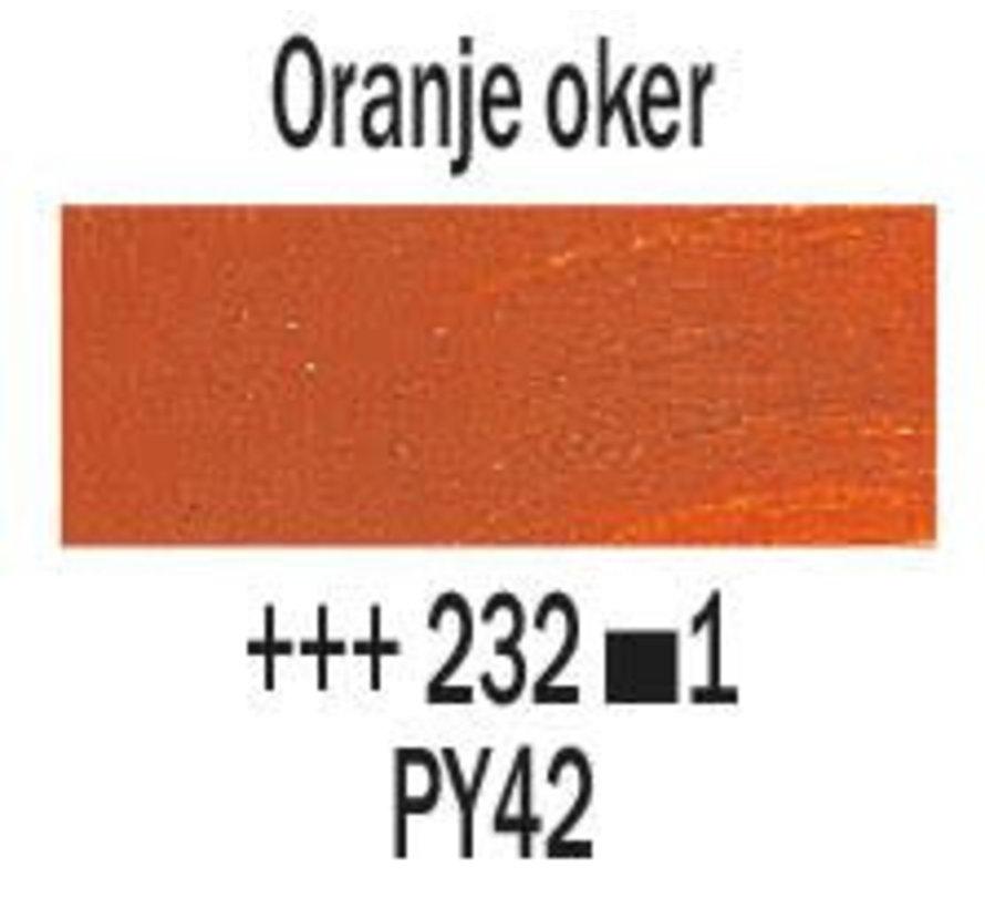 Rembrandt 40ml olieverf 232 Oranje oker