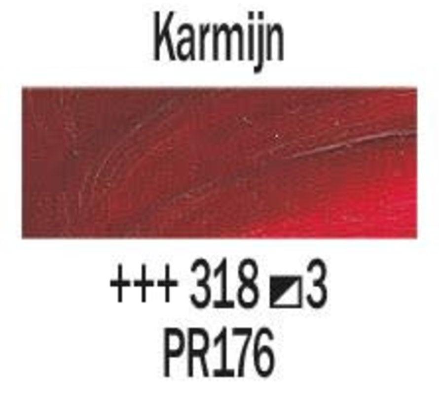Rembrandt 40ml olieverf 318 Karmijn