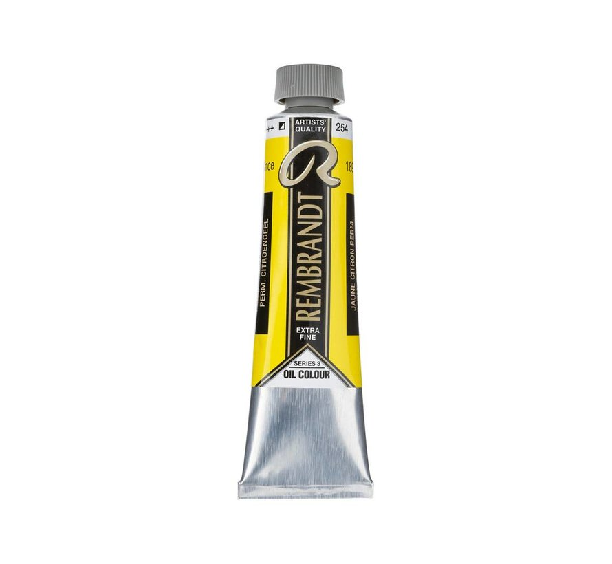 Rembrandt 40ml olieverf 254 Permanentcitroengeel