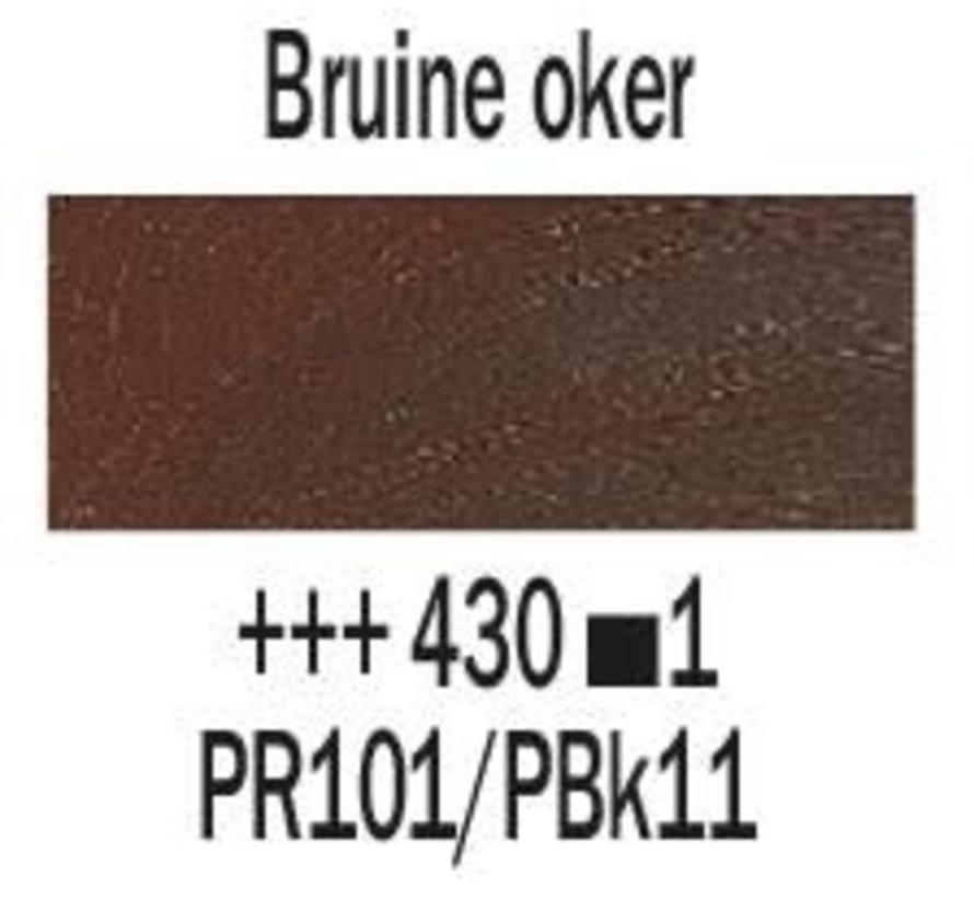 Rembrandt 40ml olieverf 430 Bruine oker