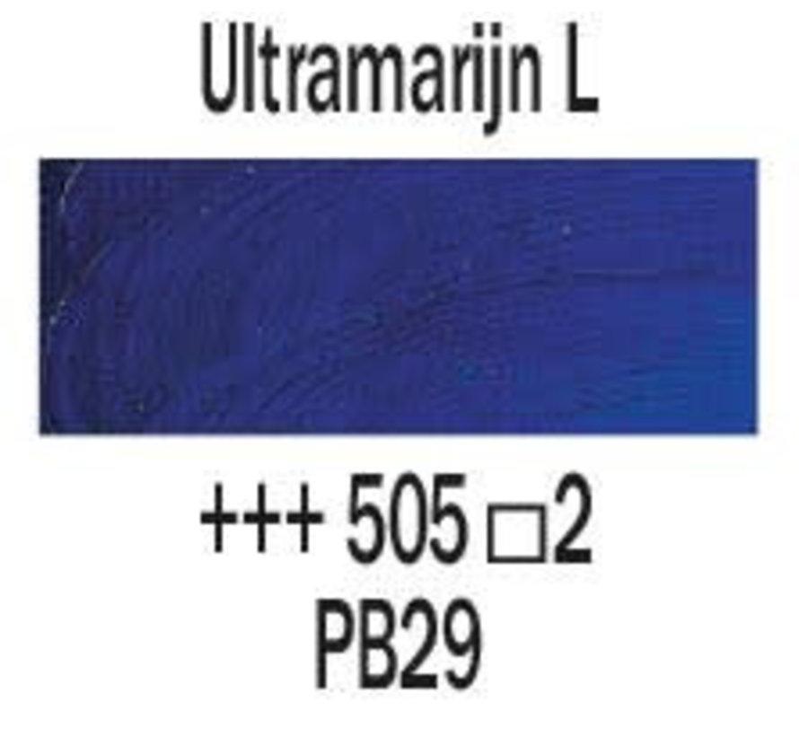 Rembrandt 40ml olieverf 505 Ultramarijn licht
