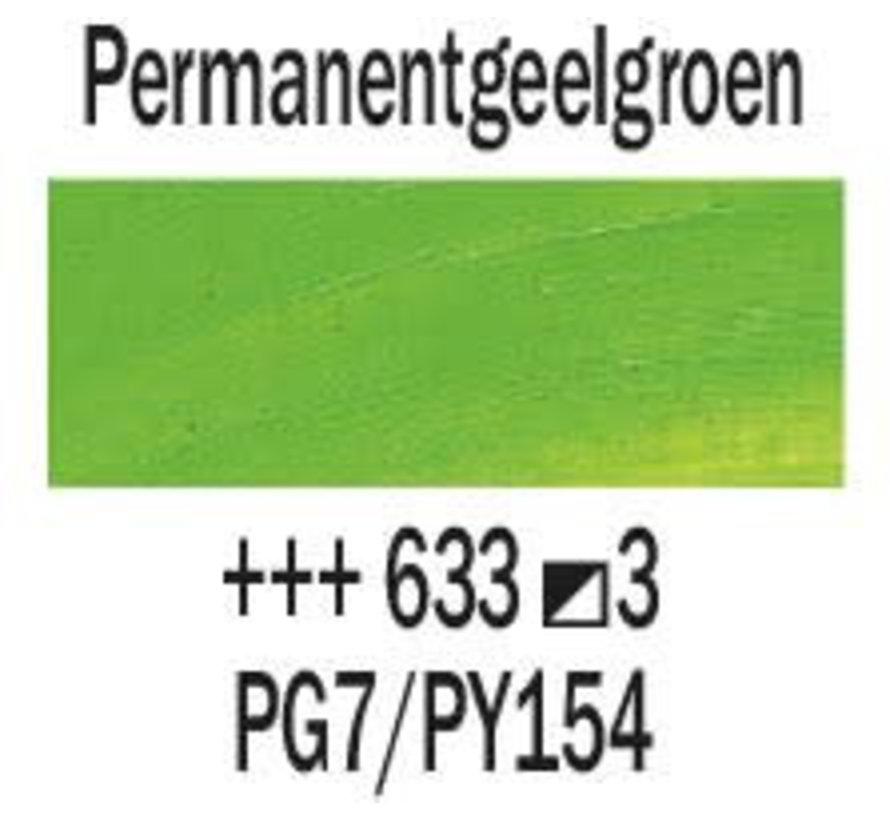Rembrandt 40ml olieverf 633 Permanentgeelgroen
