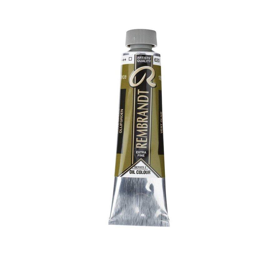 Rembrandt 40ml olieverf 620 Olijfgroen