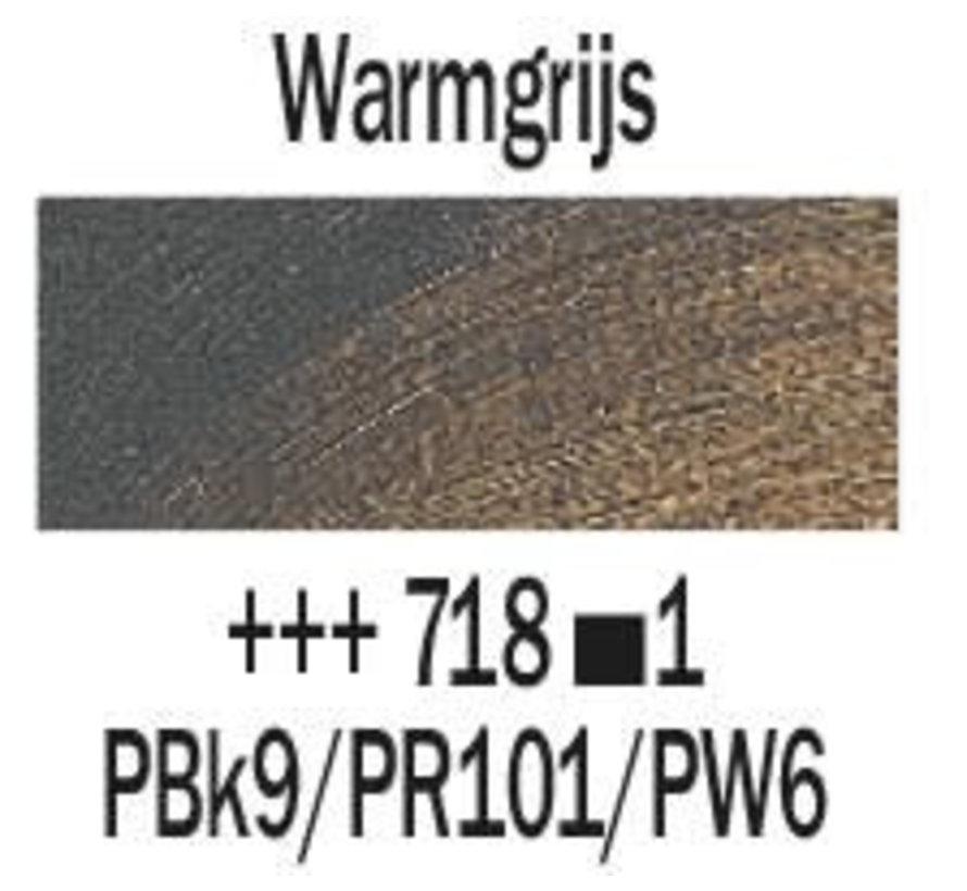 Rembrandt 40ml olieverf 718 Warmgrijs