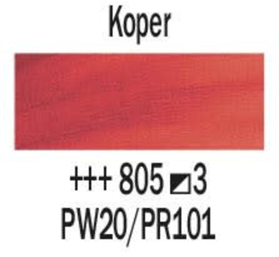 Rembrandt 40ml olieverf 805 Koper