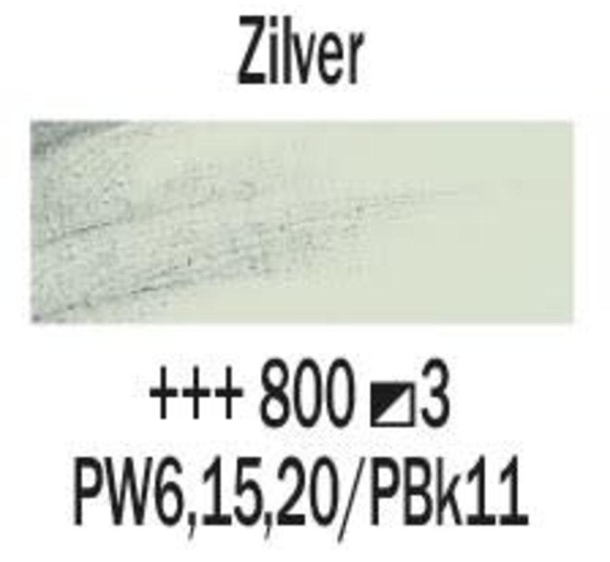 Rembrandt 40ml olieverf 800 Zilver