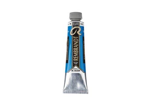 Rembrandt Rembrandt 40ml olieverf 582 Mangaanblauw phtalo