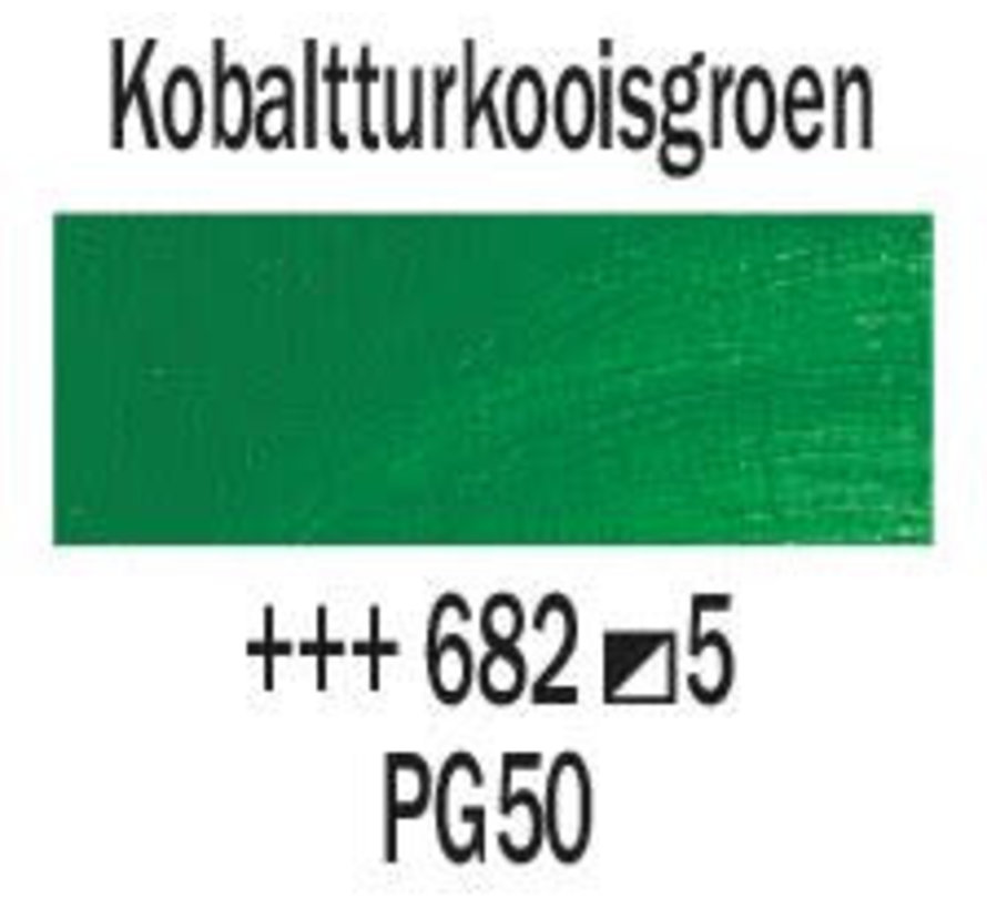 Rembrandt 40ml olieverf 682 Kobalt-turkooisgroen