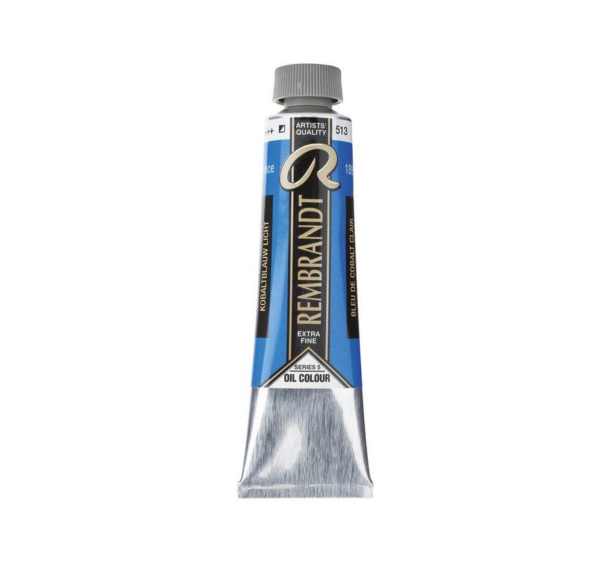 Rembrandt 40ml olieverf 513 Kobaltblauw licht
