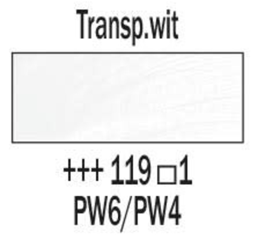 Rembrandt 40ml olieverf 119 Transparantwit