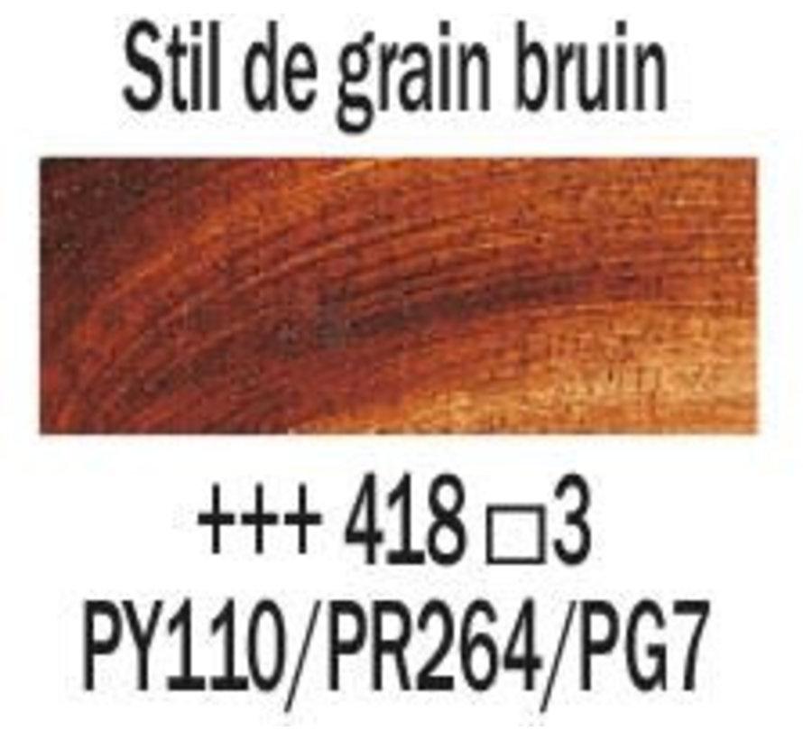 Rembrandt 40ml olieverf 418 Stil de grain bruin