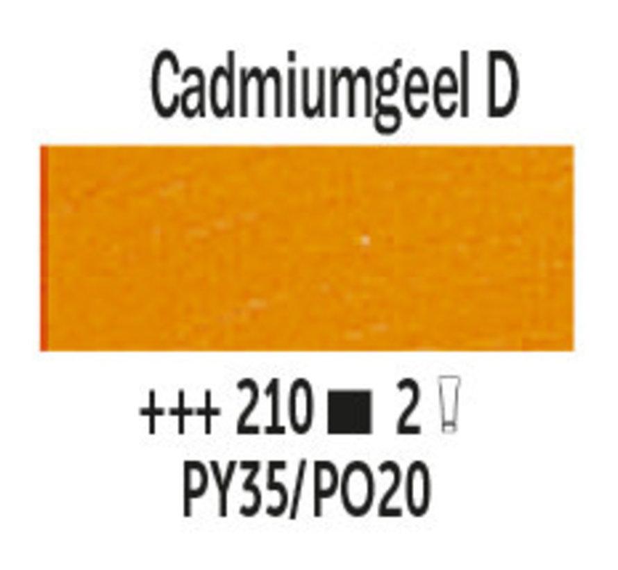 Van Gogh 200ml olieverf 210 Cadmiumgeel donker