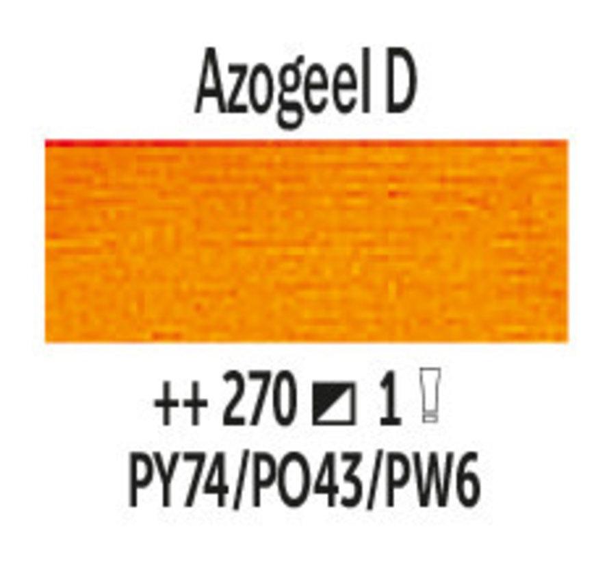 Van Gogh 200ml olieverf 270 Azogeel donker