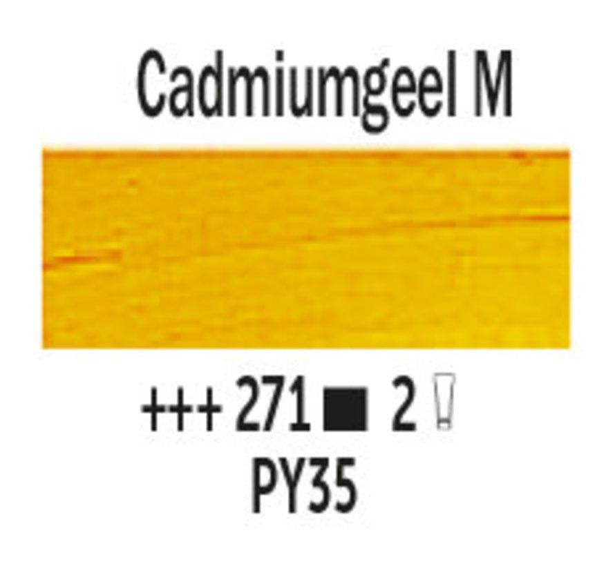 Van Gogh 200ml olieverf 271 Cadmiumgeel middel