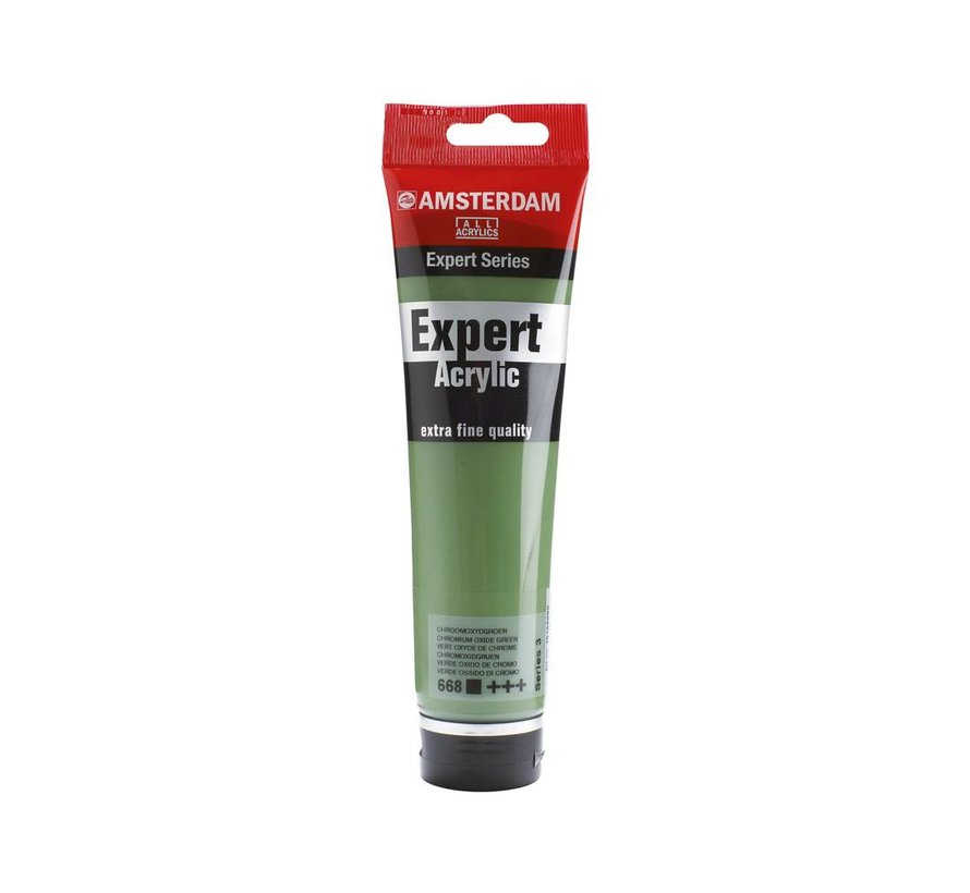 Amsterdam expert 150ml acrylverf 668 Chroomoxydgroen