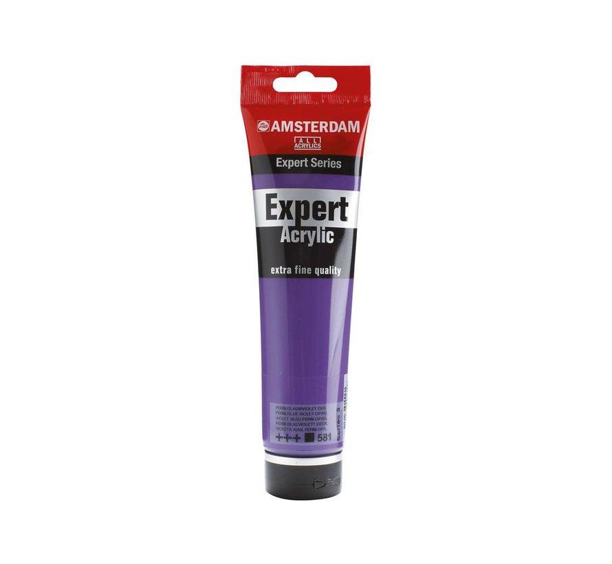 Amsterdam expert 150ml acrylverf 581 Perm. blauwviolet dekkend