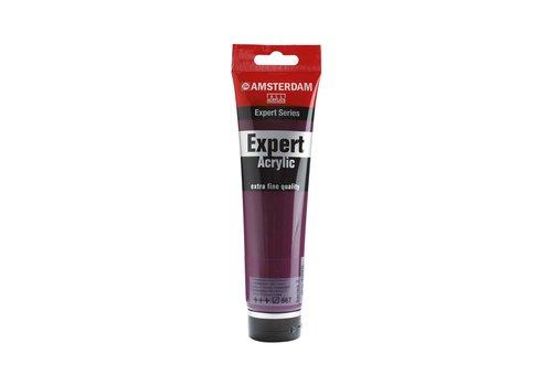 Amsterdam Amsterdam expert 150ml acrylverf 567 Permanentroodviolet