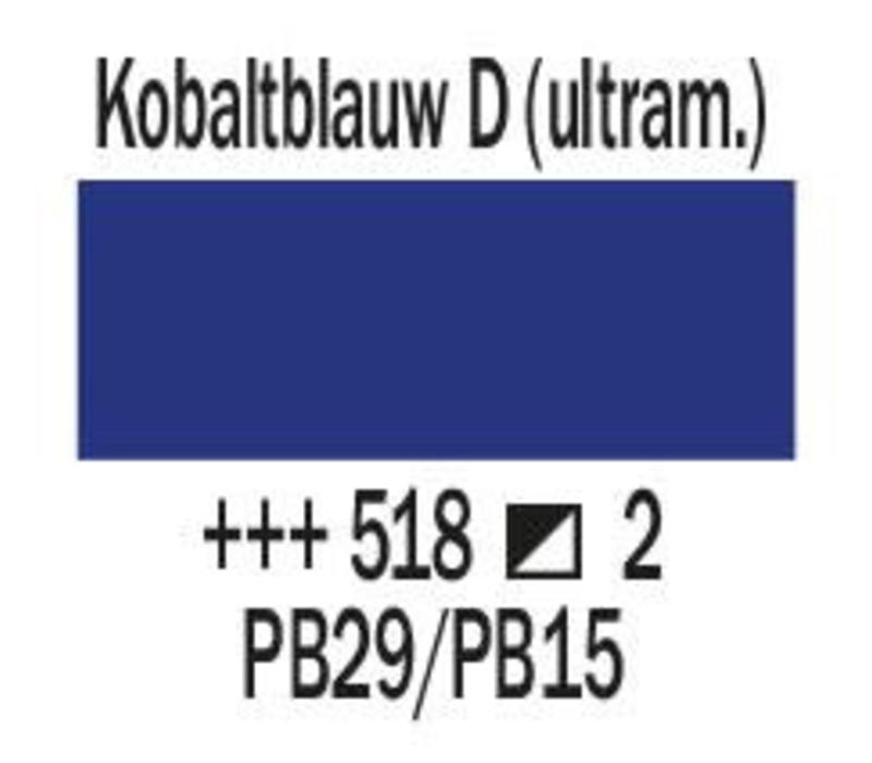 Amsterdam expert 150ml acrylverf 518 Kobaltblauw donker ultramar