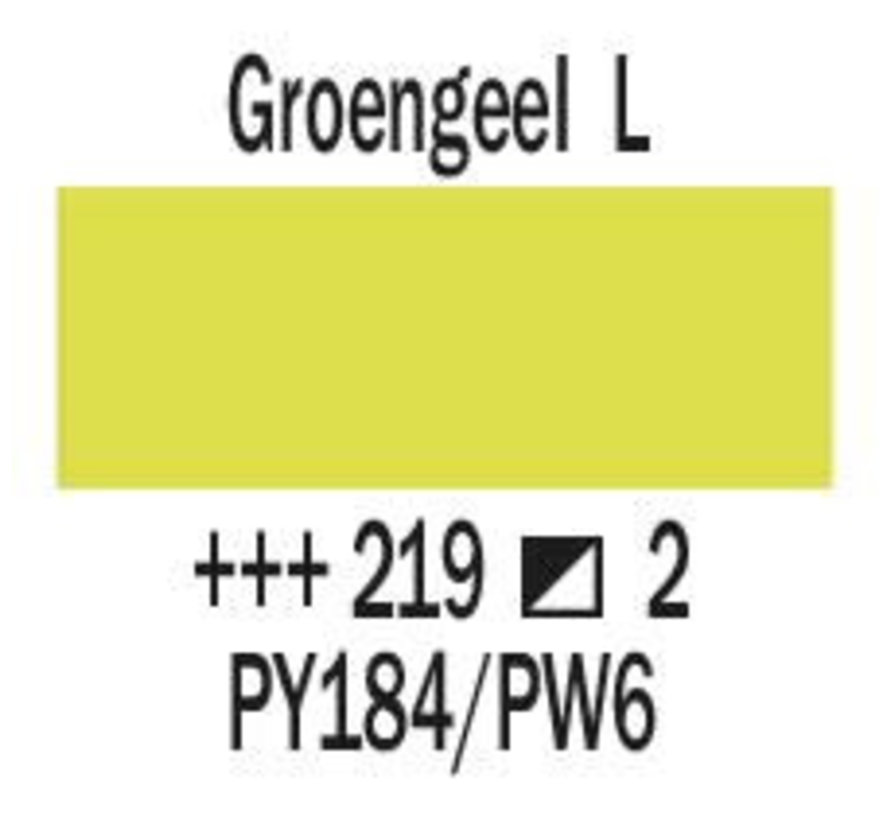 Amsterdam expert 150ml acrylverf 219 Groengeel licht