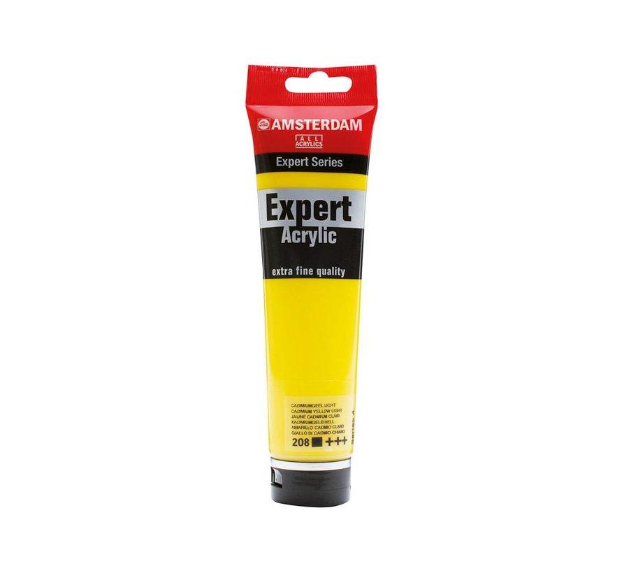 Amsterdam expert 150ml acrylverf 208 Cadmium geel licht