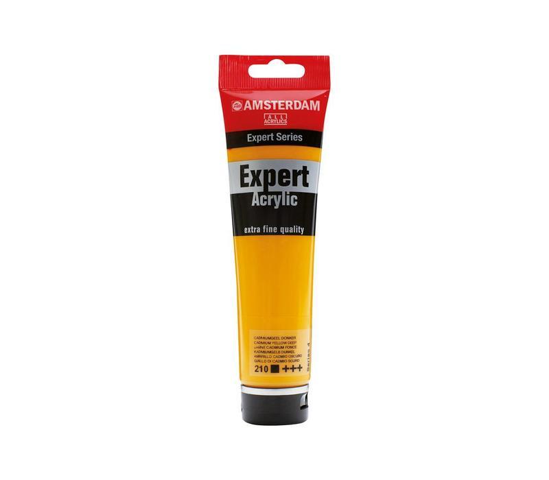 Amsterdam expert 150ml acrylverf 210 Cadmium geel donker