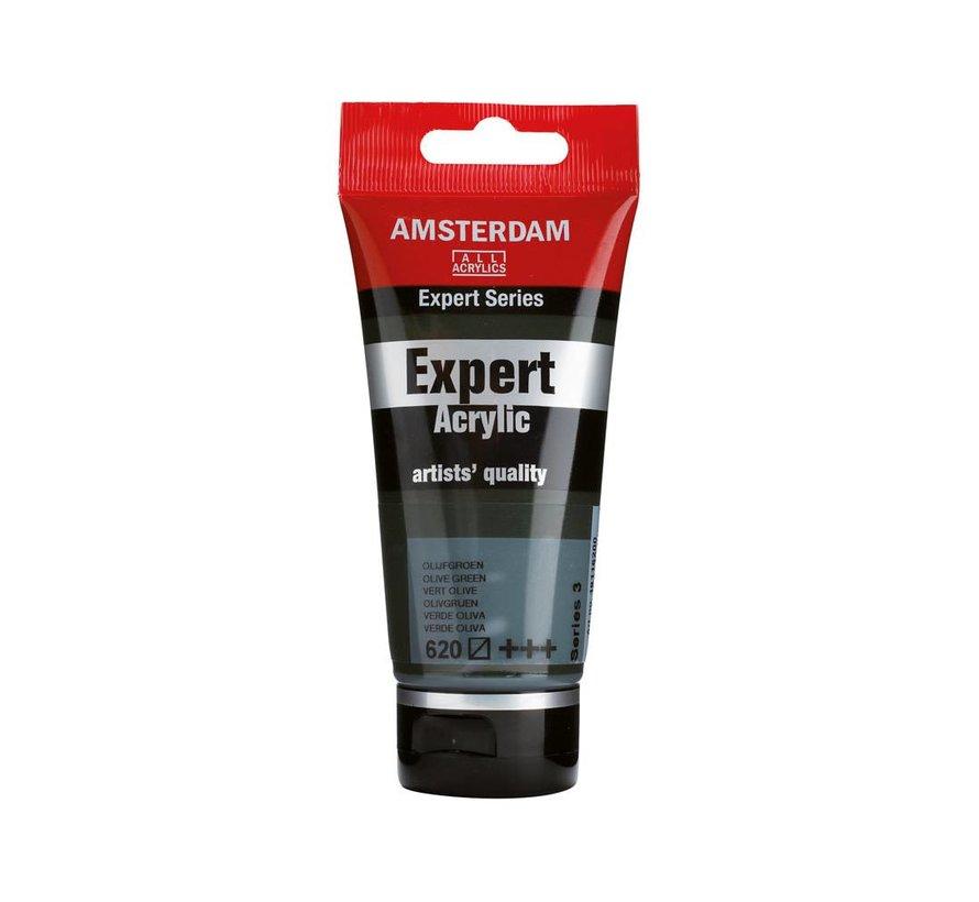 Amsterdam expert 75ml acrylverf 620 Olijfgroen