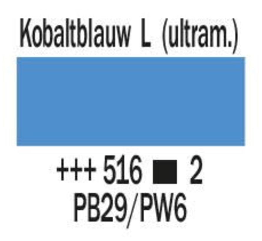 Amsterdam expert 75ml acrylverf 516 Kobaltblauw licht ultram.