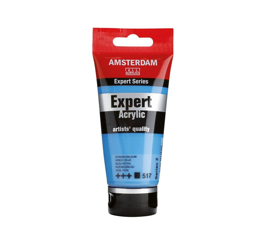 Amsterdam expert 75ml acrylverf 517 Koningsblauw
