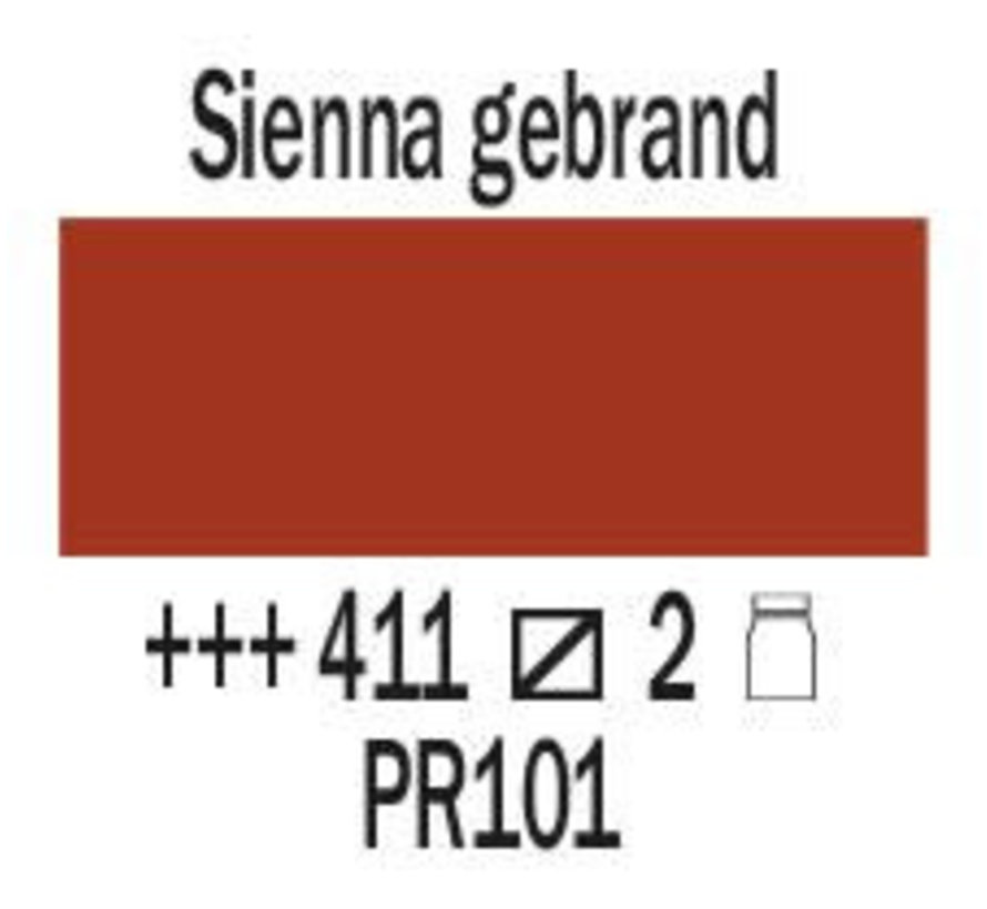 Amsterdam expert 75ml acrylverf 411 Sienna gebrand