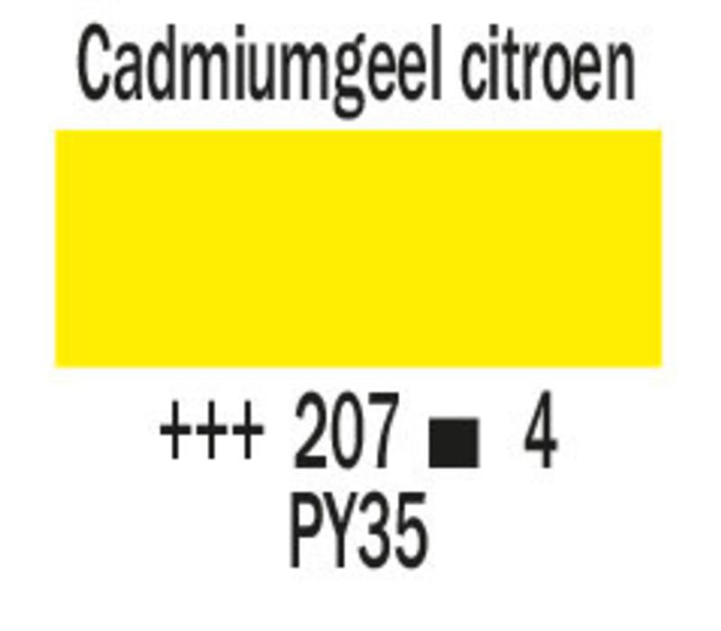 Cobra artist 40ml olieverf 207 Cadmiumgeel citroen