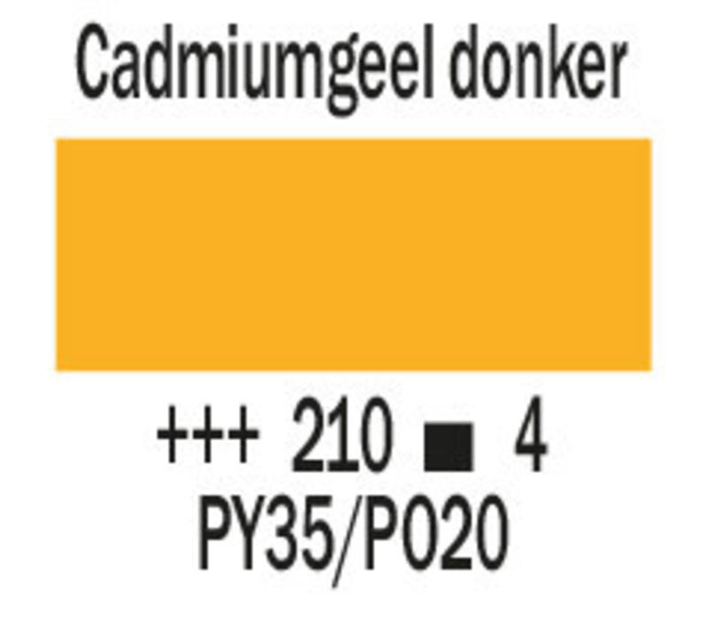 Cobra artist 40ml olieverf 210 Cadmiumgeel donker