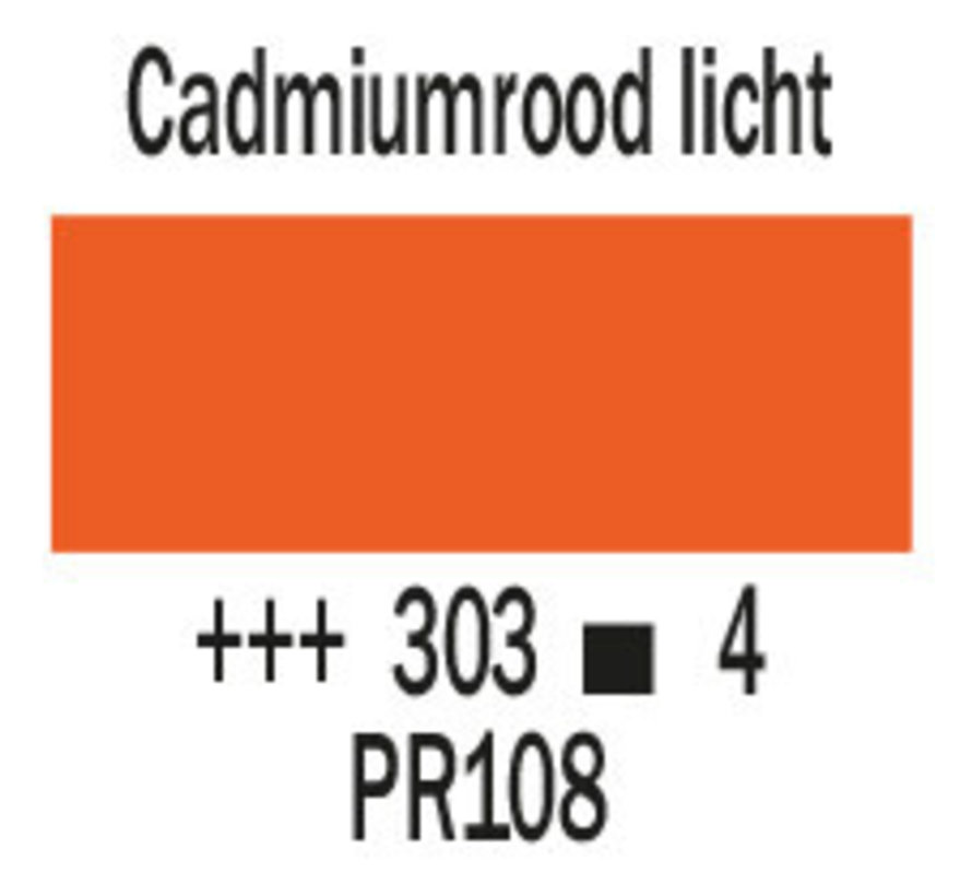 Cobra artist 40ml olieverf 303 Cadmiumrood licht
