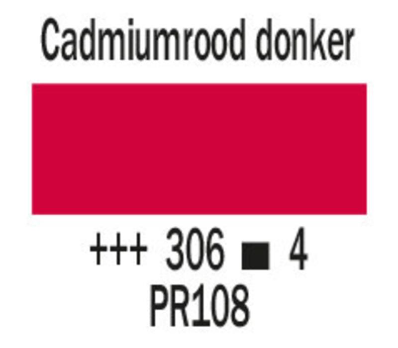 Cobra artist 40ml olieverf 306 Cadmiumrood donker