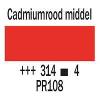 Cobra artist 40ml olieverf 314 Cadmiumrood middel
