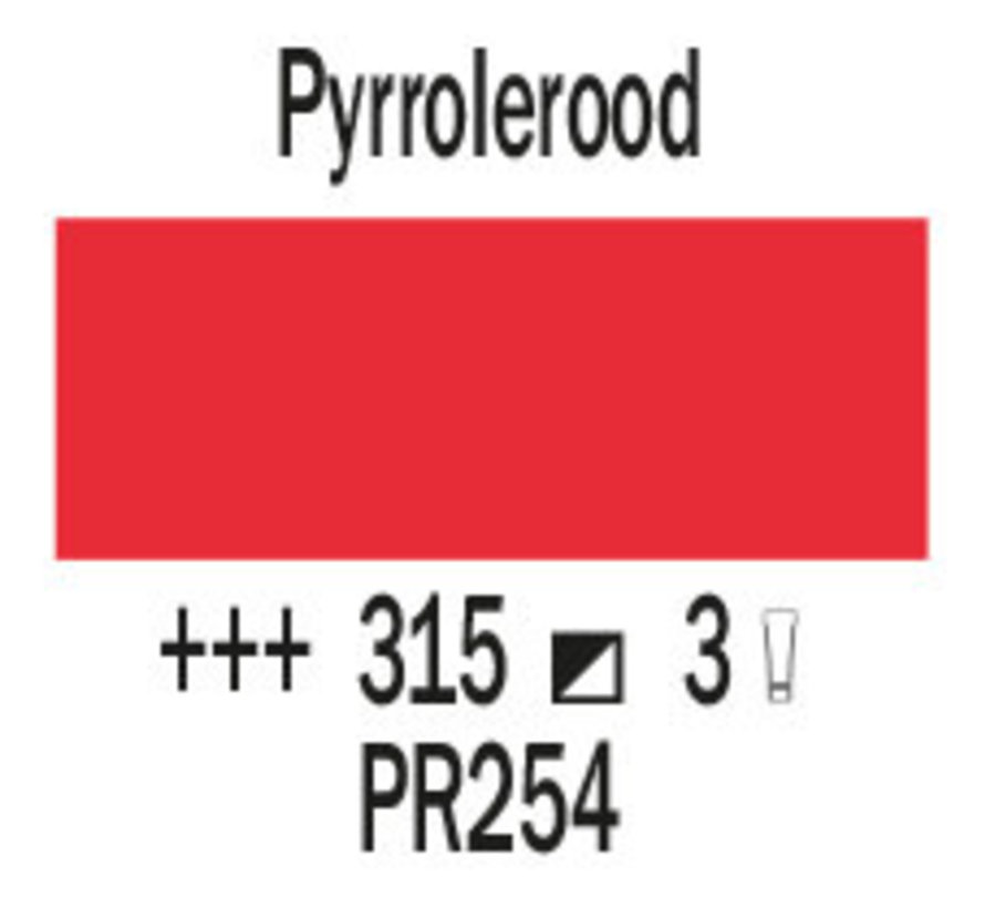 Cobra artist 40ml olieverf 315 Pyrrolerood
