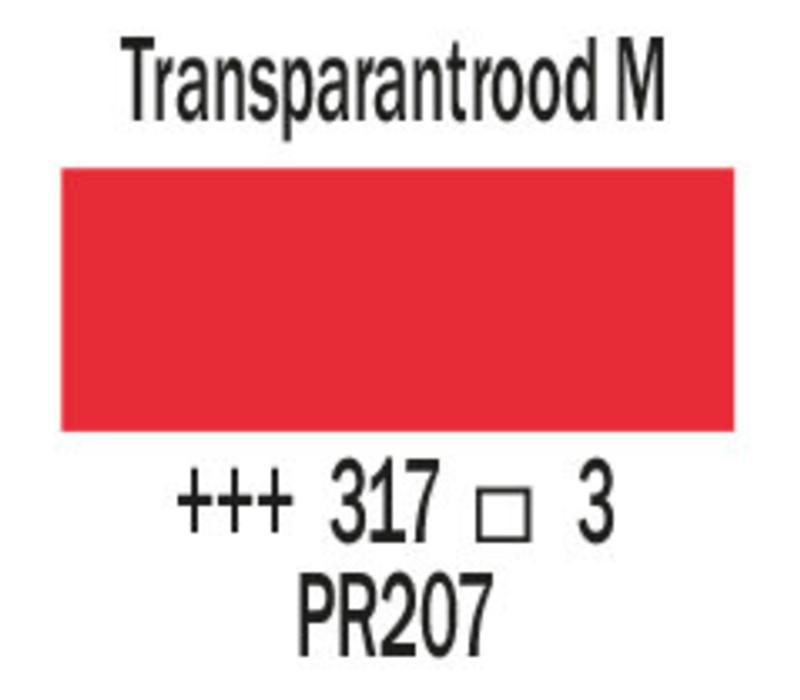 Cobra artist 40ml olieverf 317 Transparantrood middel