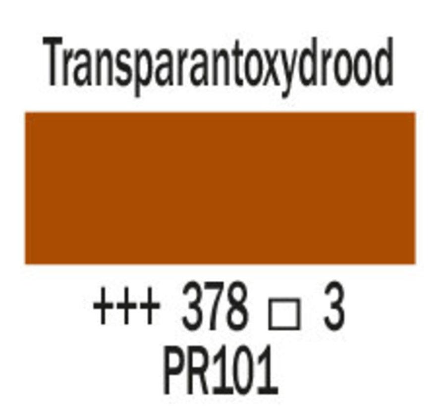 Cobra artist 40ml olieverf 378 Transparantoxydrood