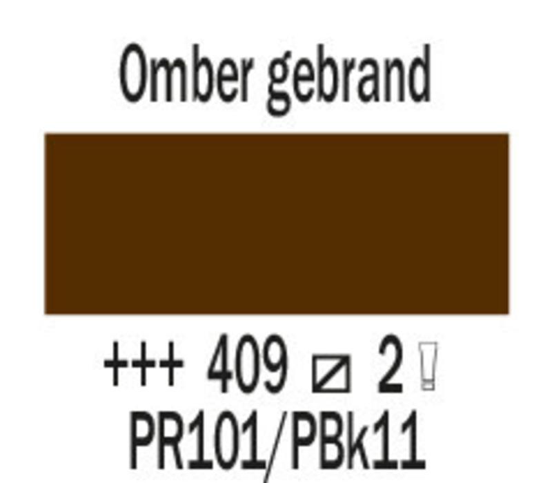 Cobra artist 150ml olieverf 409 Omber gebrand