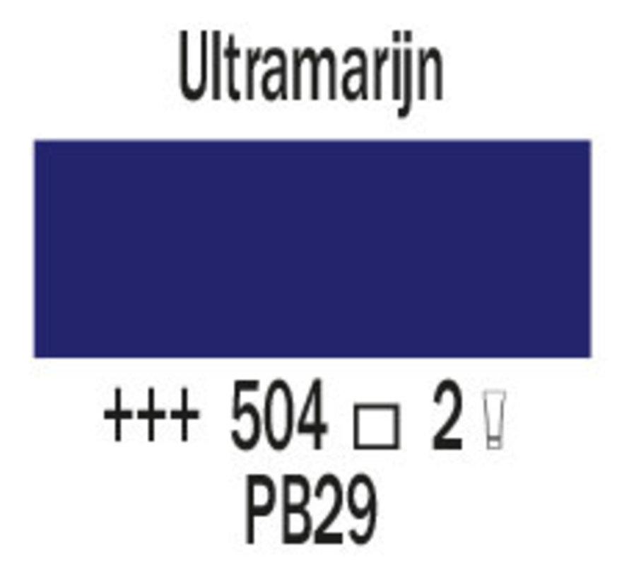 Cobra artist 150ml olieverf 504 Ultramarijn