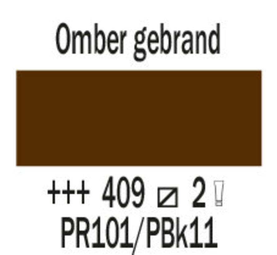 Cobra artist 40ml olieverf 409 Omber gebrand