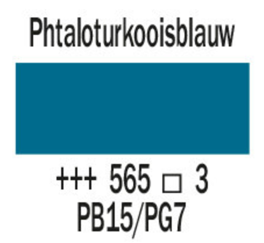 Cobra artist 40ml olieverf 565 Phtaloturkooisblauw