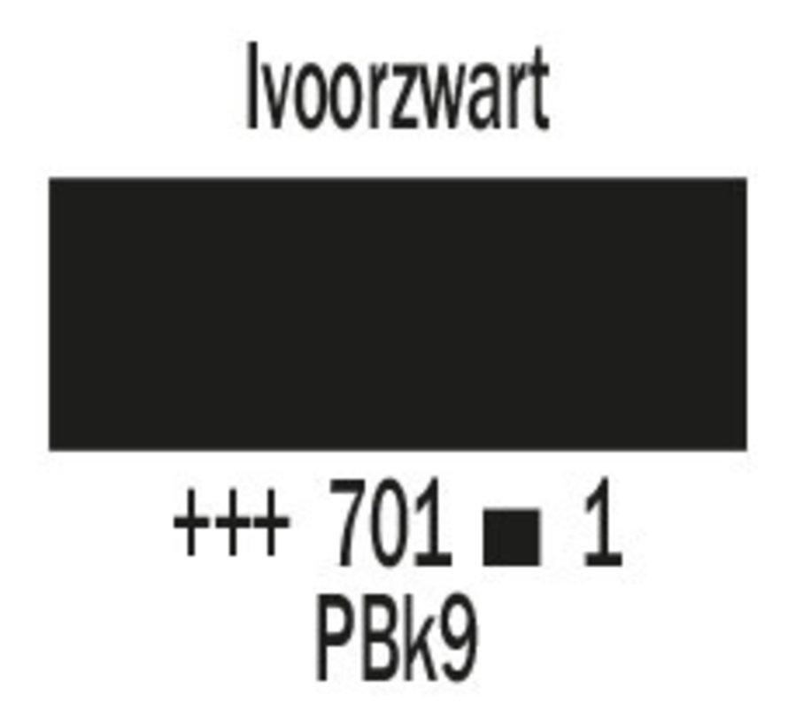 Cobra artist 40ml olieverf 701 Ivoorzwart