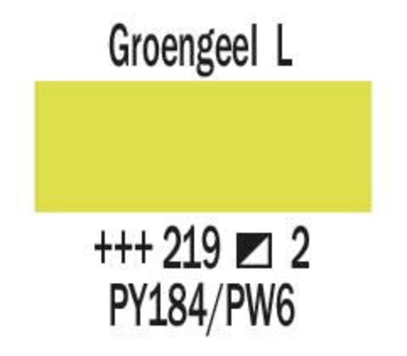 Amsterdam expert 75ml acrylverf 219 Groengeel licht