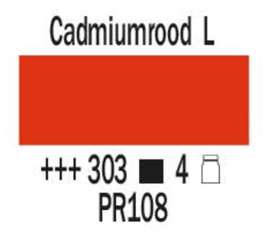 Amsterdam expert 75ml acrylverf 303 Cadmiumrood licht