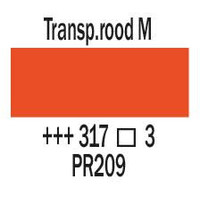 Amsterdam expert 150ml acrylverf 317 Transparantrood middel