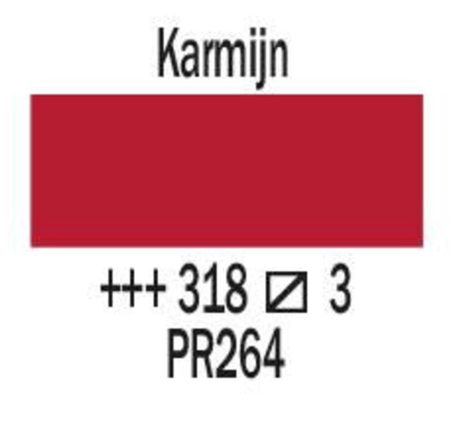 Amsterdam expert 75ml acrylverf 318 Karmijn