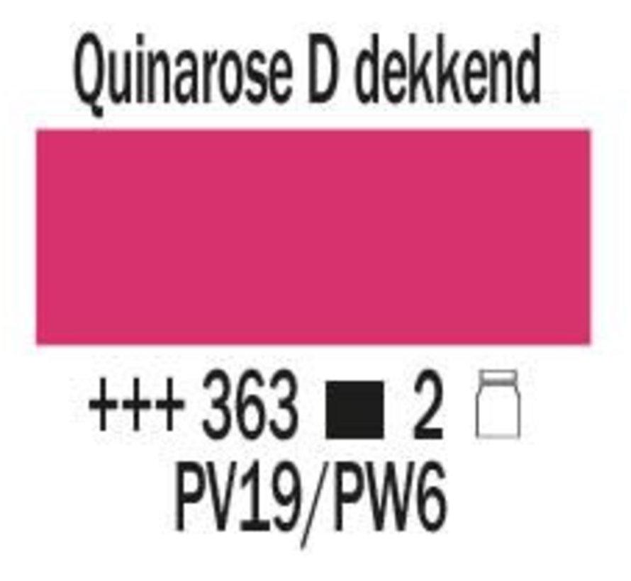 Amsterdam expert 150ml acrylverf 363 Quinarose donker dekkend