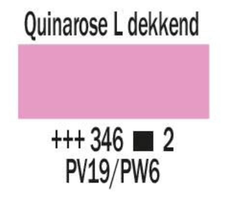 Amsterdam expert 150ml acrylverf 346 Quinarose licht dekkend