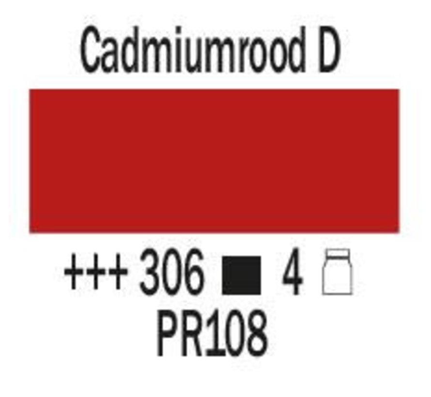 Amsterdam expert 150ml acrylverf 306 Cadmiumrood donker